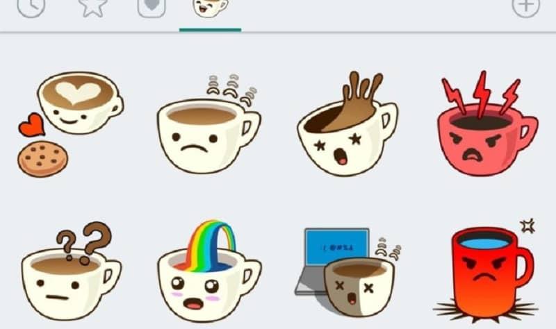 varios stickers animados
