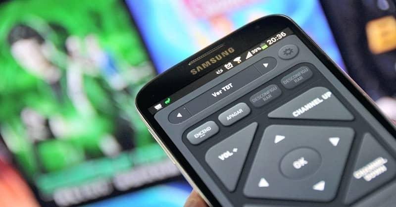 movil app control remoto