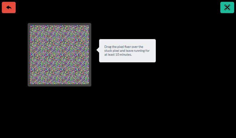 herramienta jscreen reparadora pixeles danados