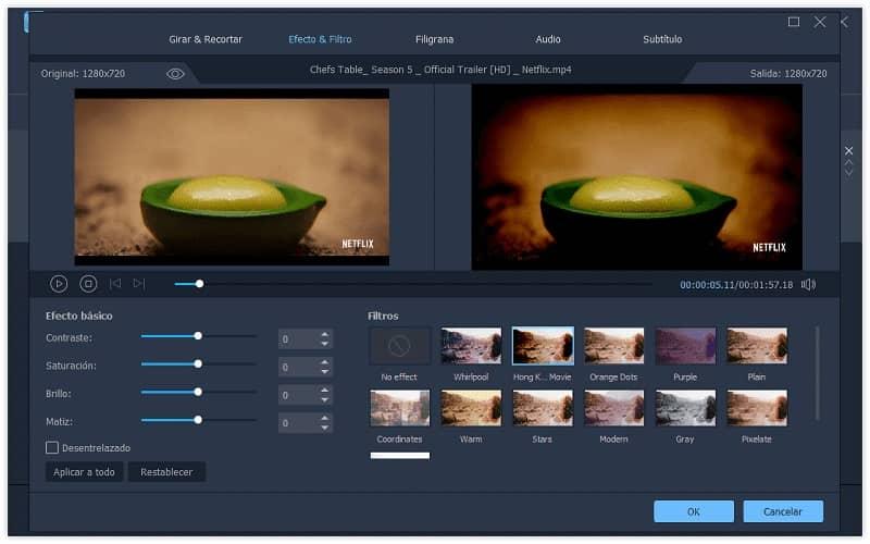 edicion de video en filmora