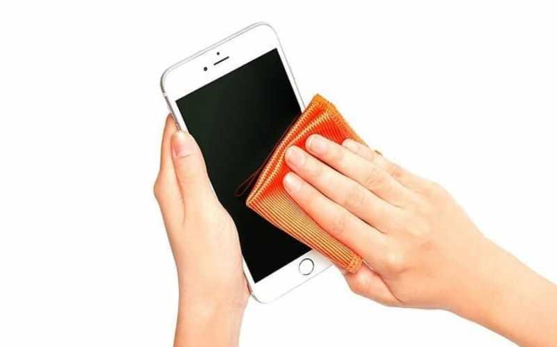 limpieza correcta smartphone